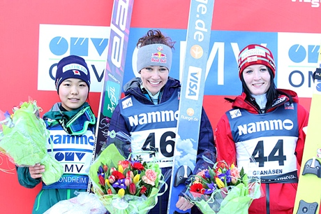 Podium in Trondheim